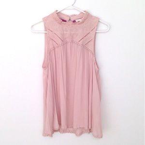 Tops - NWT Pink sleeveless blouse🎉2xHP🎉